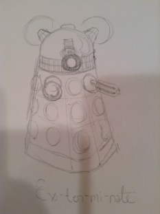 Chibi Daleks aren't so threatening—oh wait! Ex-ter-mi-nate!