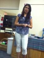 Karen Vallejos sharing her story