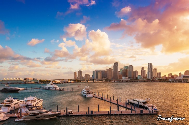 Downtown Miami, Florida - ©Dreamframer