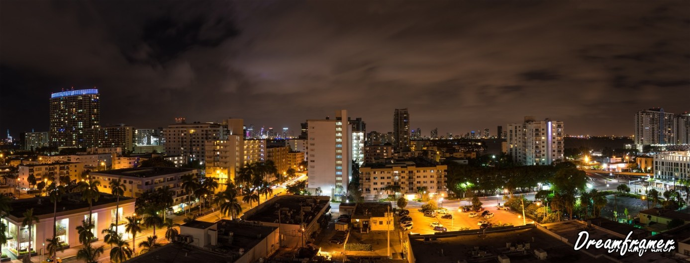 Miami Beach Panorama - ©Dreamframer