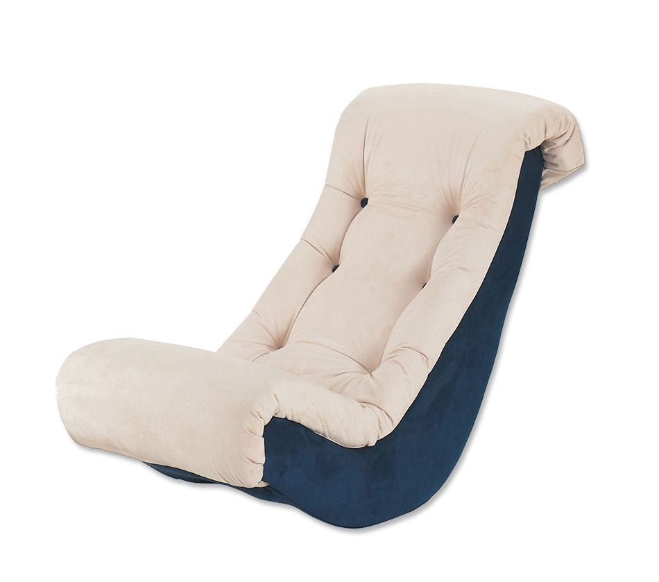 Banana Rocker Chair Banana Rocker Navy Beige Micro