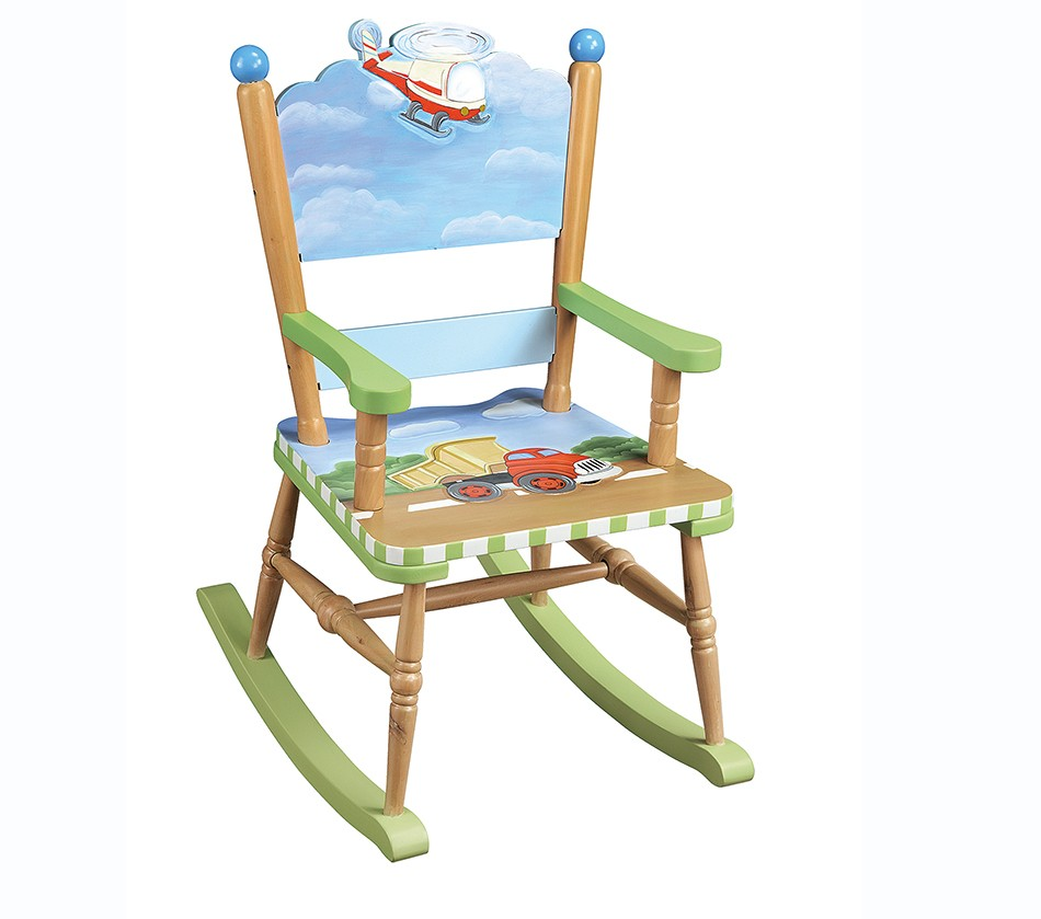 Kids Rocking Chairs Teamson Kids Boys Rocking Chair Transportation