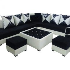 Dark Blue Sofa Table Marks And Spencer Sofas Chairs Felicite L Shape Set,center 2 Puffy – Dream ...