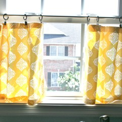 Cafe Curtains For Kitchen Miami Pinspiration Monday No Sew Dream Green Diy