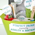 Diy Perfect Pairs Bridal Shower Gift