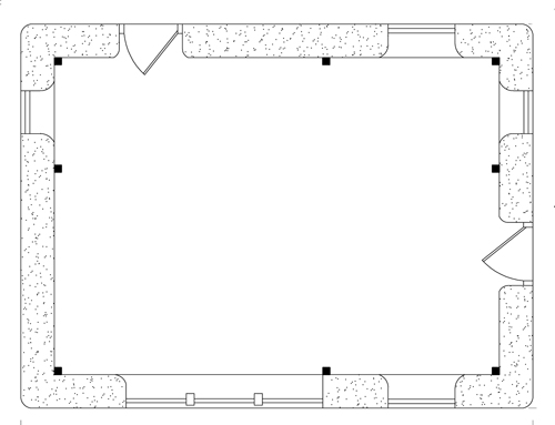 Shop with Office Plan