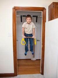 Doorway Swing or MiniGym | DreamGYM Indoor Jungle Gyms blog
