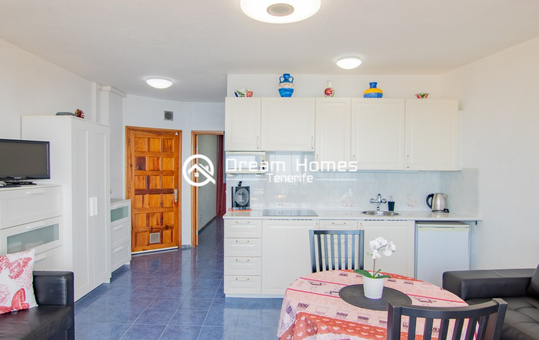 Arenas Negras One Bedroom Apartment, Puerto de Santiago Dining Area Real Estate Dream Homes Tenerife