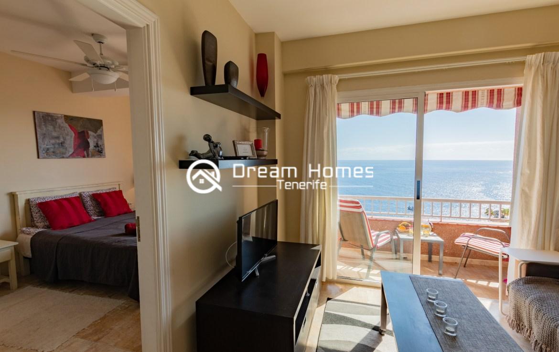 Bahia One Bedroom Apartment, Puerto de Santiago Living Room Real Estate Dream Homes Tenerife