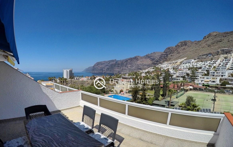 Hibisco I Two Bedroom Apartment, Los Gigantes Terrace Real Estate Dream Homes Tenerife