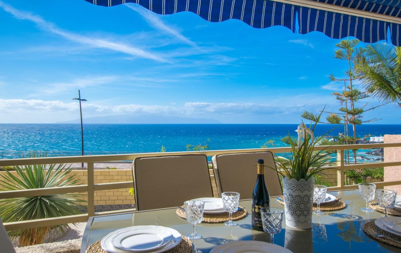 For Holiday Rent Two Bedroom Apartment in Puerto de Santiago Ocean View Estate Dream Homes Tenerife