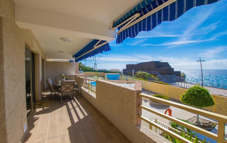 For Holiday Rent Two Bedroom Apartment in Puerto de Santiago Terrace Estate Dream Homes Tenerife
