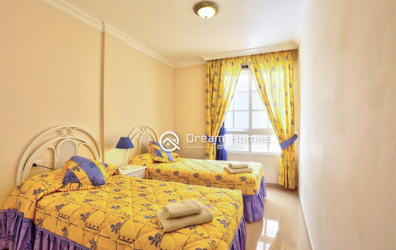 Avenida Two Bedroom Apartment, Puerto de Santiago Bedroom Real Estate Dream Homes Tenerife
