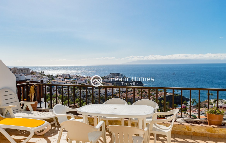 Casablanca Two Bedroom Apartment, Los Gigantes Terrace Real Estate Dream Homes Tenerife
