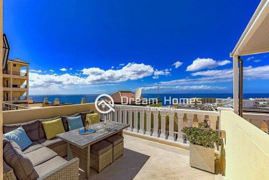 For Sale Two Bedroom Ocean View Penthouse in Callao Salvaje Terrace Real Estate Dream Homes Tenerife