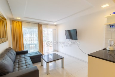 Newly Renovated One Bedroom Mountain View Apartment in Los Gigantes Living Room Real Estate Dream Homes Tenerife