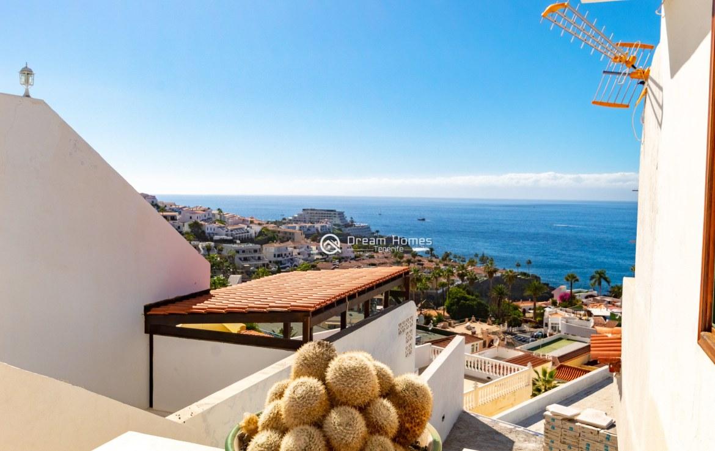 Fantastic View Apartment in Los Gigantes. No Community Fee Terrace Real Estate Dream Homes Tenerife