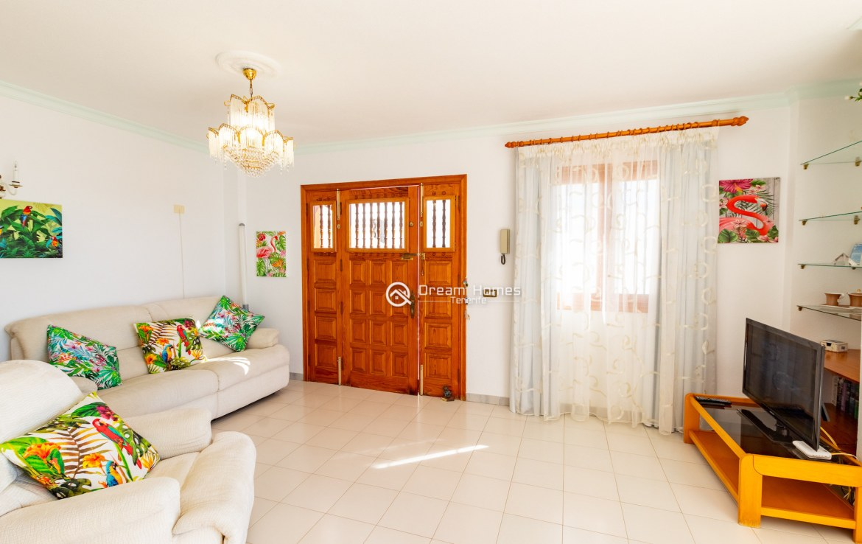 Fantastic View Apartment in Los Gigantes. No Community Fee Living Room Real Estate Dream Homes Tenerife
