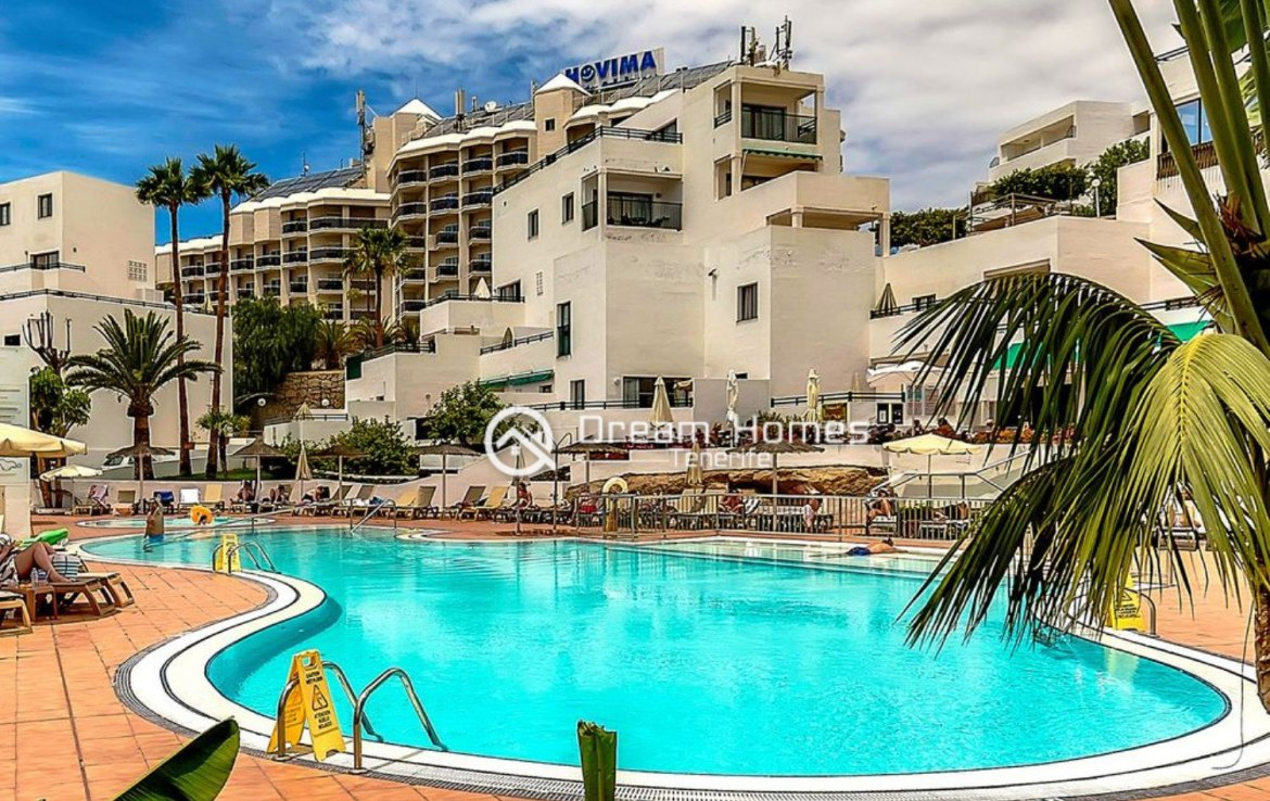 Great Two Bedroom Apartment for sale in Los Cristianos Swimming Pool Real Estate Dream Homes Tenerife