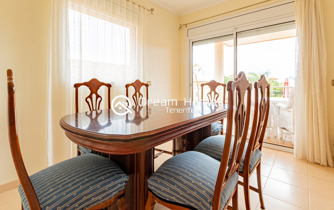 Spacious Villa with Private Pool Dining Area Real Estate Dream Homes Tenerife