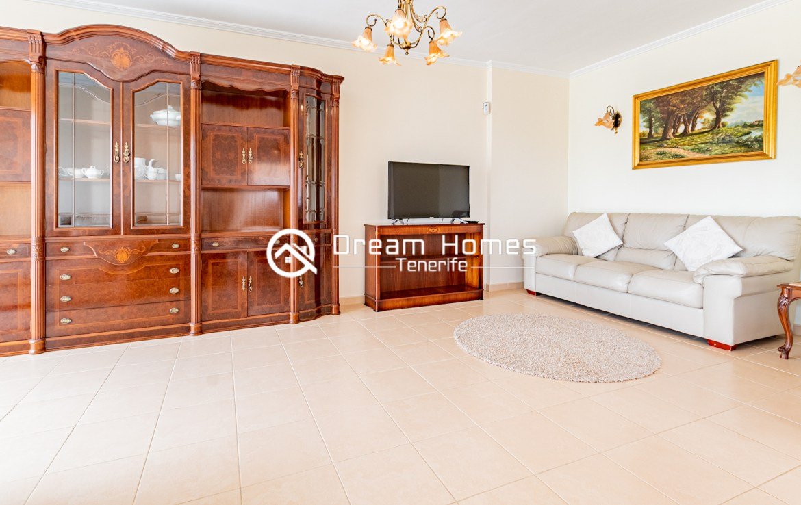 Spacious Villa with Private Pool Living Room Real Estate Dream Homes Tenerife