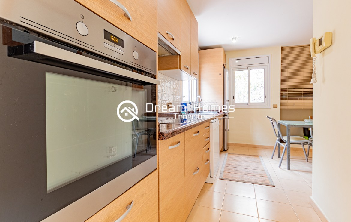 Spacious Villa with Private Pool Kitchen Real Estate Dream Homes Tenerife