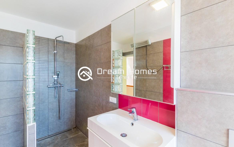 Fantastic Oceanview Penthouse For Rent in Los Gigantes Bathroom Real Estate Dream Homes Tenerife