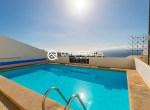 For Holiday Rent Two Bedroom Penthouse Duplex Apartment Swimming Pool Terrace Ocean View Puerto de Santiago Los Gigantes31