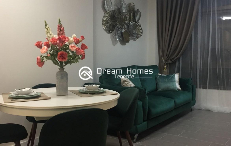 Newly Renovated Apartment in Puerto de Santiago Living Room Real Estate Dream Homes Tenerife