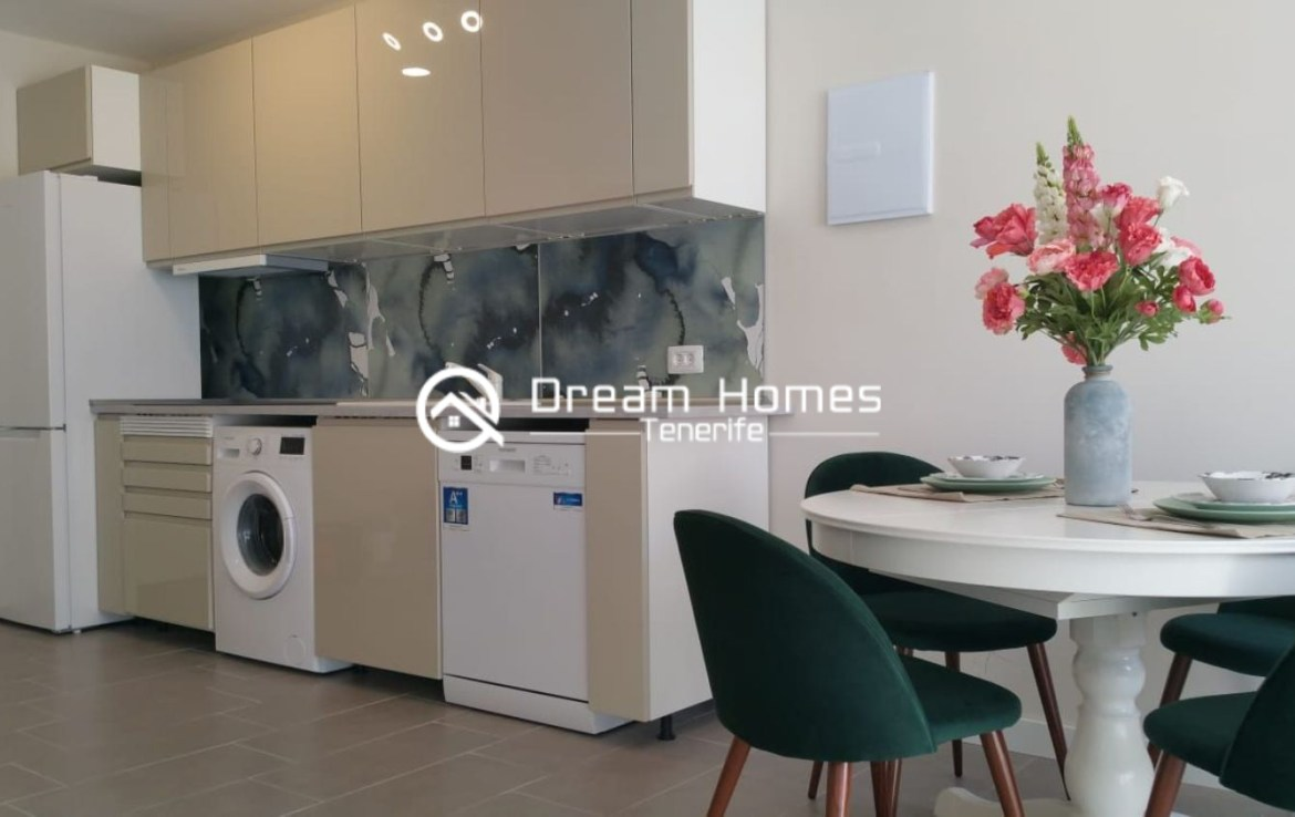 Newly Renovated Apartment in Puerto de Santiago Kitchen Real Estate Dream Homes Tenerife