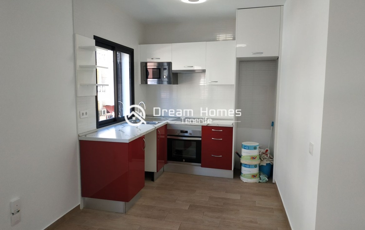 3 Bedroom Apartment Converted to Two Apartments Kitchen Real Estate Dream Homes Tenerife