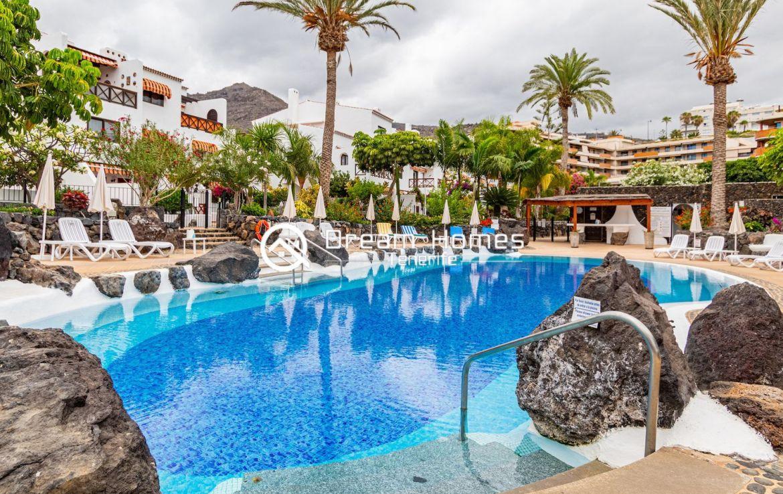 Fantastic Duplex in Front of the Ocean Pool Real Estate Dream Homes Tenerife