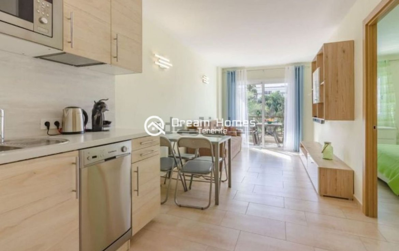 Fully Furnished Apartment in El Dorado, Playa las Americas Kitchen Real Estate Dream Homes Tenerife