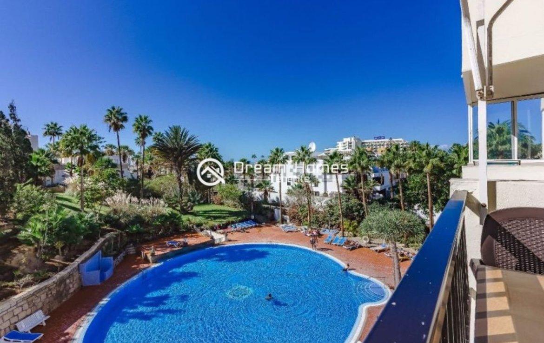 Fully Furnished Apartment in El Dorado, Playa las Americas Pool Real Estate Dream Homes Tenerife