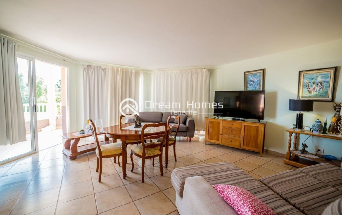 Large Family Home in Playa Paraiso Living Room Real Estate Dream Homes Tenerife