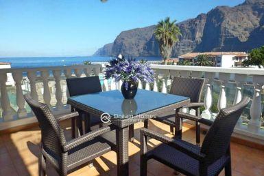 Semi Detached Oceanview Bungalow in Los Gigantes Terrace Real Estate Dream Homes Tenerife