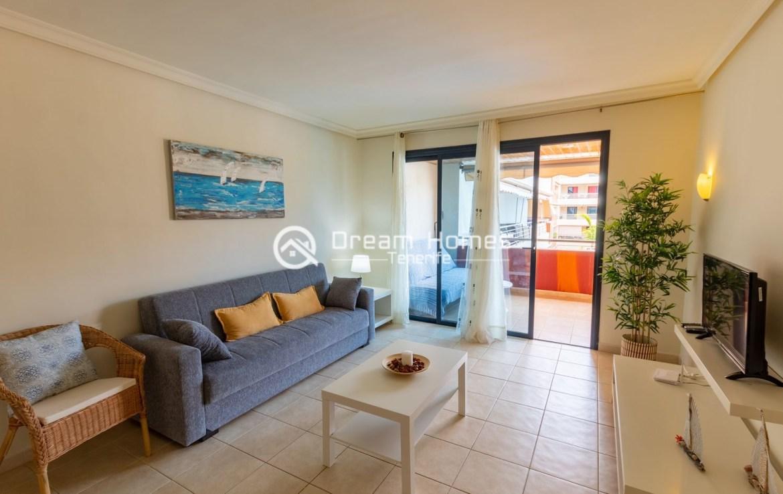 Spacious 2 Bedroom Apartment in Puerto de Santiago Living Room Real Estate Dream Homes Tenerife