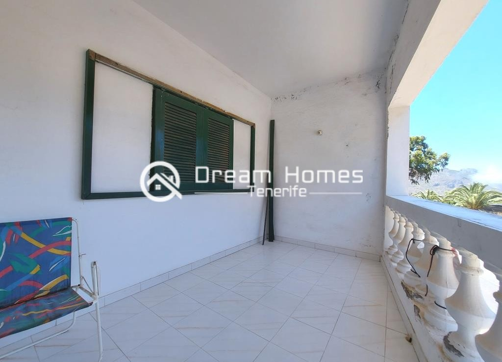 Canarian Style House with 2 Commercial Units in Santiago del Teide Terrace Real Estate Dream Homes Tenerife