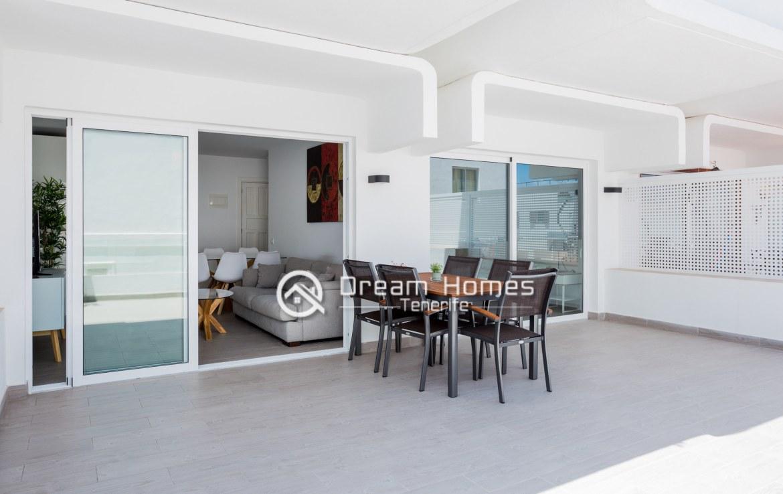 Modern Apartment in Concanasa Los Gigantes Terrace Real Estate Dream Homes Tenerife