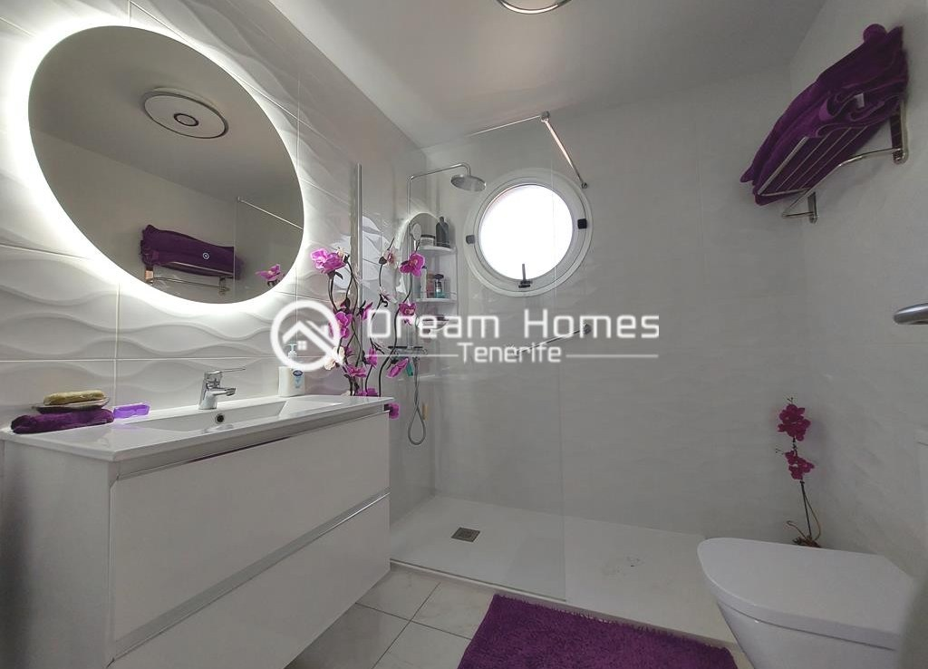 Fully Furnished Two Bedroom Apartment in Golf del Sur Bathroom Real Estate Dream Homes Tenerife