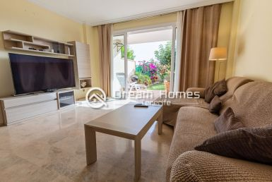 Large Townhouse for rent in Puerto de Santiago Living Room Real Estate Dream Homes Tenerife