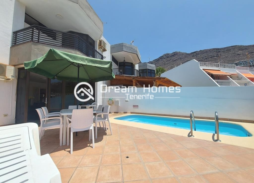 Spectacular Three Bedroom Townhouse with Oceanview and Pool Real Estate Dream Homes Tenerife