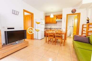 Cozy One Bedroom Apartment in Los Gigantes Living Room Real Estate Dream Homes Tenerife