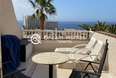 One Bedroom Oceanview Apartment in Los Gigantes Terrace Real Estate Dream Homes Tenerife