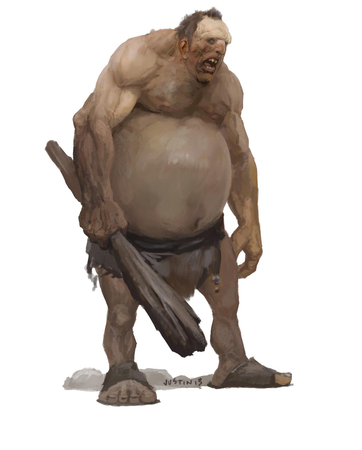 The meaning and symbolism of the word  Ogre