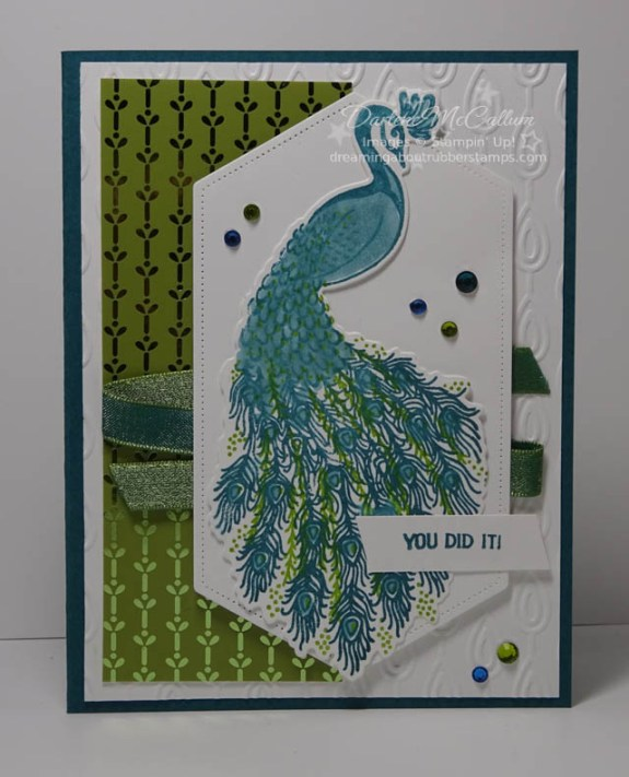 Noble Peacock Suite by Stampin Up