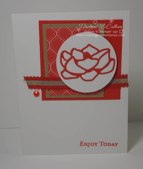 Terracotta Tile by Stampin Up