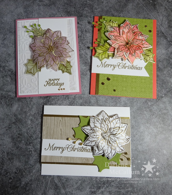 Poinsettia Place Suite by Stampin Up