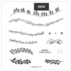Curvy Christmas Stamp Set