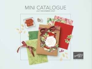 Stampin Up July to December Holiday 2021 Catalogue